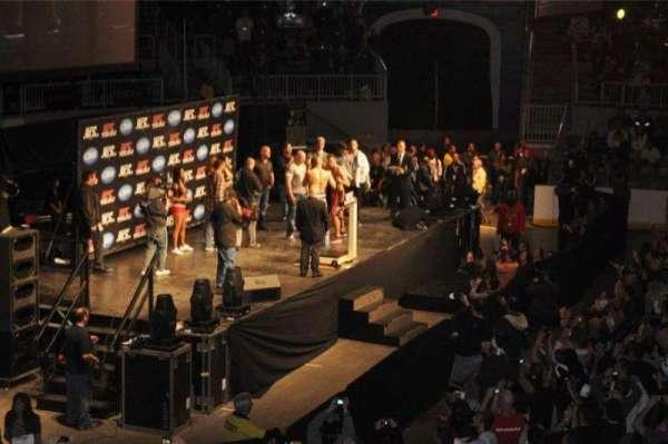 Coca-Cola Coliseum, secção: 101, fila: 15, lugar: 5