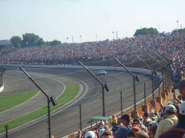Indianapolis Motor Speedway, secção: Northwest Vista 6, fila: L, lugar: 5