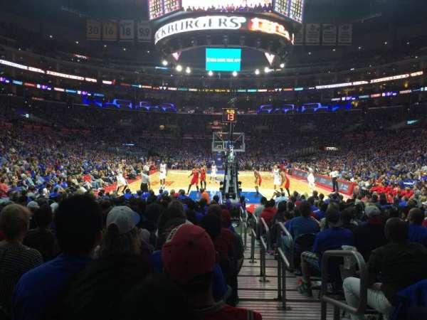Staples Center, secção: 107, fila: 5, lugar: 1