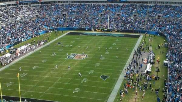 Bank Of America Stadium, secção: 552, fila: 22, lugar: 17