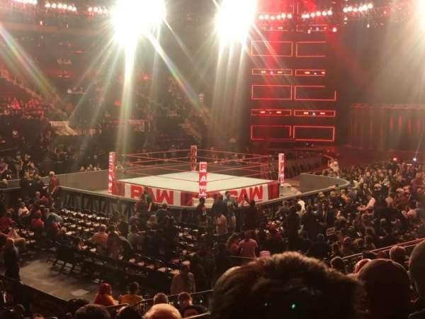 Madison Square Garden, secção: 105, fila: 11, lugar: 1