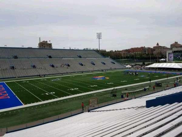 David Booth Kansas Memorial Stadium, secção: 9, fila: 33, lugar: 35