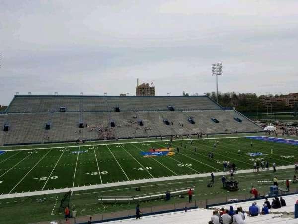 David Booth Kansas Memorial Stadium, secção: 7, fila: 35, lugar: 30