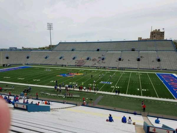David Booth Kansas Memorial Stadium, secção: 4, fila: 42, lugar: 5