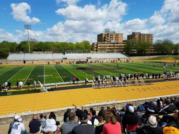 Welch Stadium, secção: L, fila: 20, lugar: 7