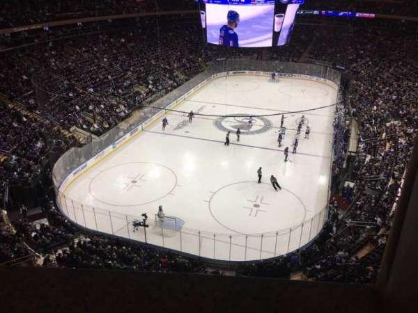 Madison Square Garden, secção: 306, fila: 1, lugar: 14