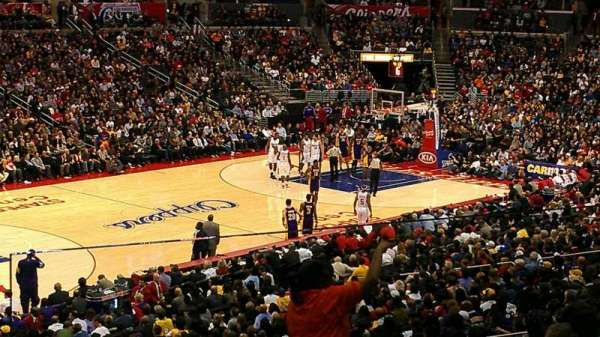 Staples Center, secção: PR8, fila: 2, lugar: 5