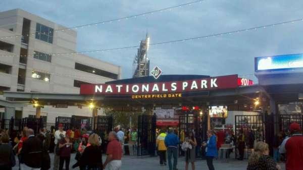 Nationals Park, secção: Center Field Gate