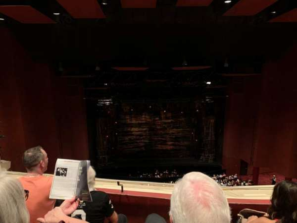 San Diego Civic Theatre, secção: BALCL1, fila: R, lugar: 7