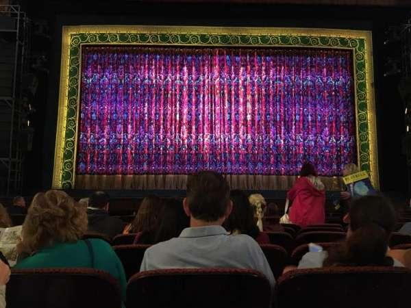 Citizens Bank Opera House, secção: Orchestra, fila: F, lugar: 108