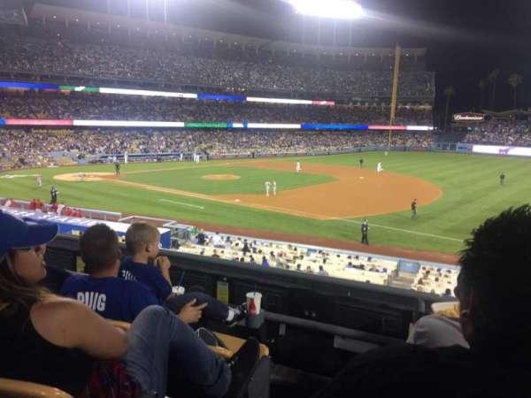 Dodger Stadium, secção: 146lg, fila: C, lugar: 1
