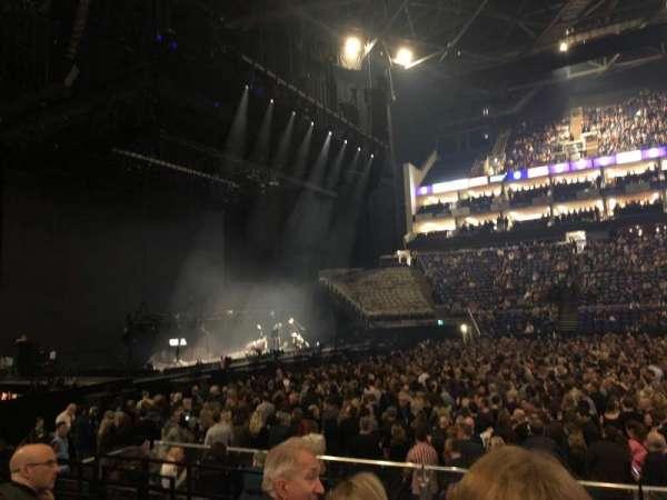 The O2 Arena, secção: 101, fila: H, lugar: 37
