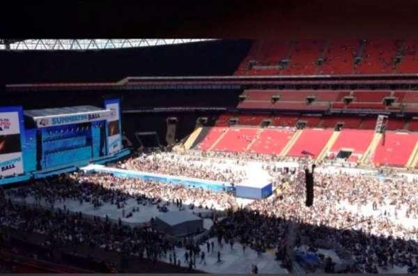 Wembley Stadium, secção: 526, fila: 9, lugar: 371