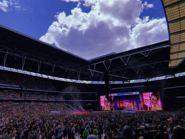 Wembley Stadium, secção: 105, fila: 13, lugar: 68