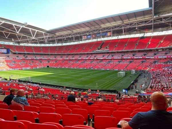 Wembley Stadium, secção: 139, fila: 39, lugar: 175