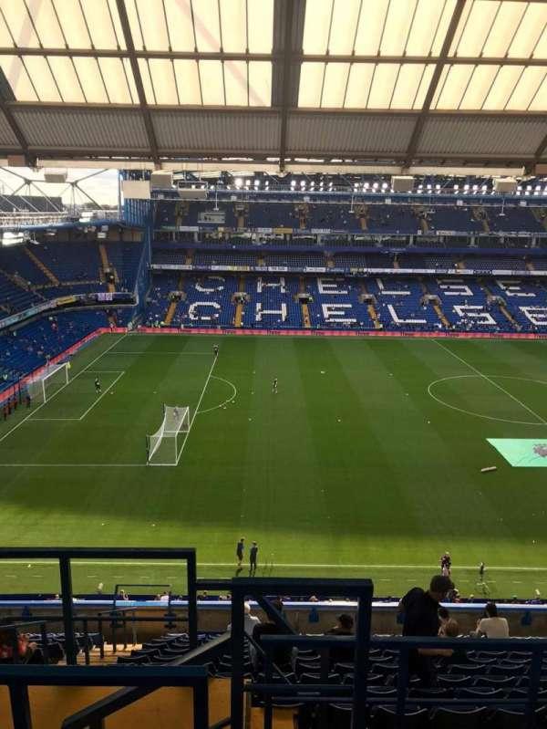 Stamford Bridge, secção: East Stand Upper, fila: 17, lugar: 148