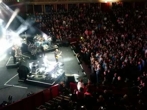 Royal Albert Hall , secção: Grand Tier, fila: Box 3, lugar: 1
