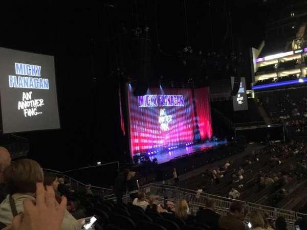 The O2 Arena, secção: 101, fila: Q, lugar: 42