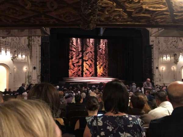 Orpheum Theatre (San Francisco), secção: Orchestra LC, fila: AA, lugar: 117