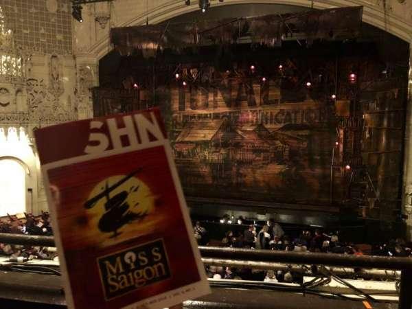 Orpheum Theatre (San Francisco), secção: Loge RC, fila: B, lugar: 114
