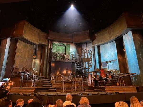 Walter Kerr Theatre, secção: Orchestra C, fila: H, lugar: 107