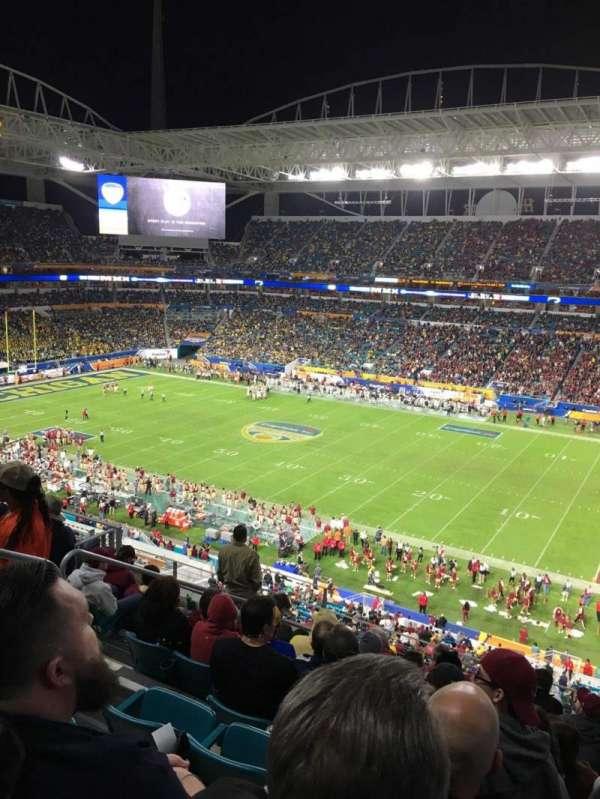 Hard Rock Stadium, secção: 342, fila: 9, lugar: 16