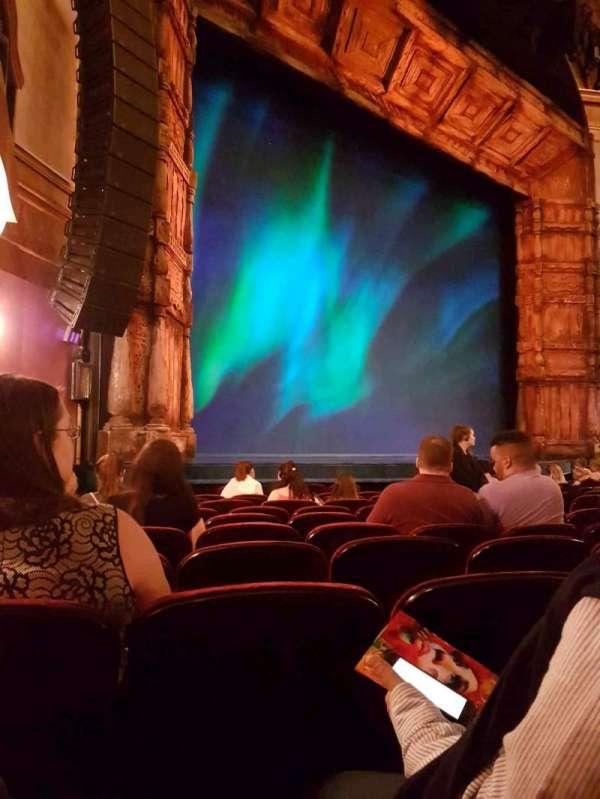 St. James Theatre, secção: Orchestra, fila: K, lugar: 23