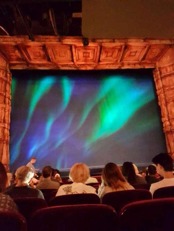 St. James Theatre, secção: Orchestra C, fila: L, lugar: 111
