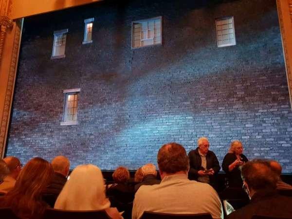 John Golden Theatre, secção: Orchestra C, fila: G, lugar: 103
