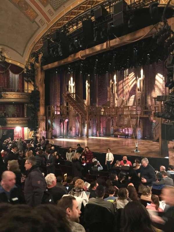 Richard Rodgers Theatre, secção: Orchestra, fila: N, lugar: 28