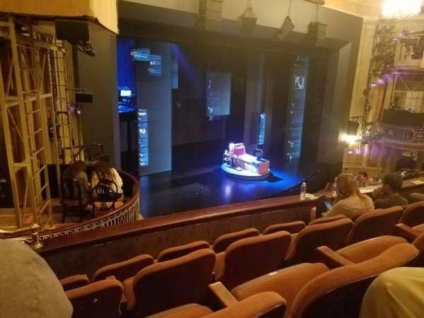 Music Box Theatre, secção: Mezzanine L, fila: D, lugar: 25
