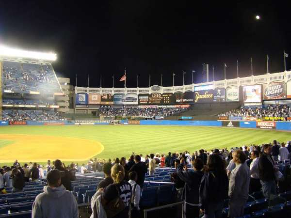 Old Yankee Stadium, secção: 15, fila: 261D, lugar: 2