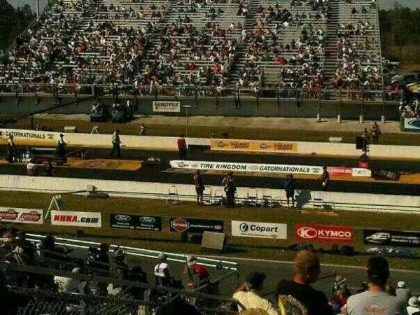 Gainesville Raceway, secção: A, fila: 29, lugar: 12