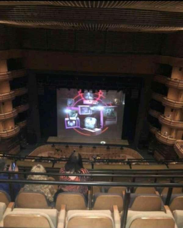 Donald Gordon Theatre at the Wales Millennium Centre, secção: Upper Circle, fila: F, lugar: 28