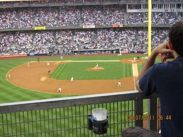 Yankee Stadium, secção: 3S, fila: 9SR, lugar: 16
