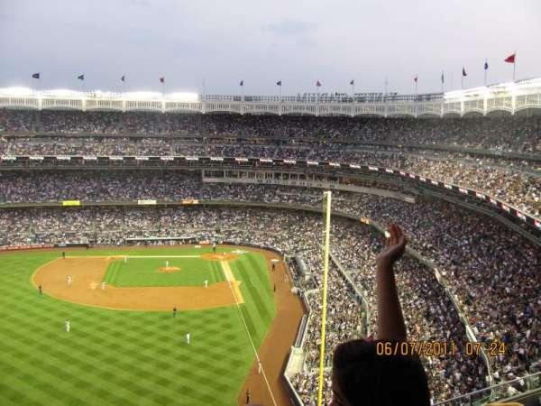 Yankee Stadium, secção: 434A, fila: 3, lugar: 2