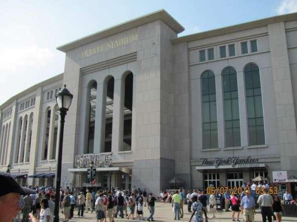 Yankee Stadium, secção: Gate 6