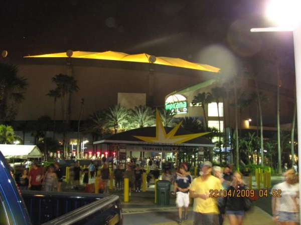 Tropicana Field, secção: Gate 1