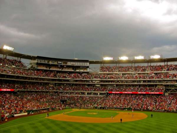 Nationals Park, secção: 241, fila: A, lugar: 13