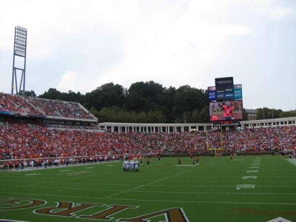 Scott Stadium, secção: 115, fila: L, lugar: 15