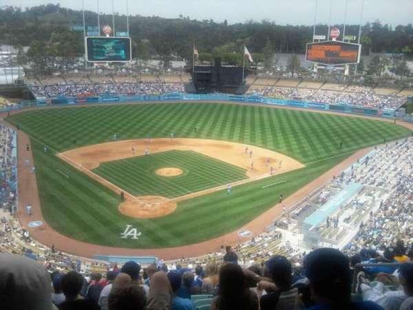Dodger Stadium, secção: 2RS, fila: R, lugar: 20