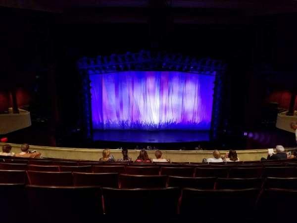 Marquis Theatre, secção: Mezzanine, fila: H, lugar: 108