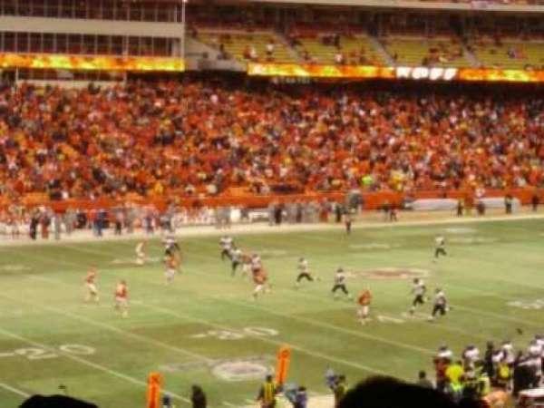 Arrowhead Stadium, secção: 123