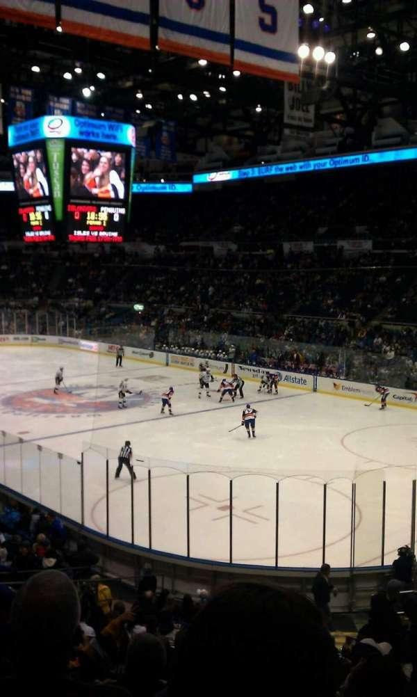 Old Nassau Veterans Memorial Coliseum, secção: 227, fila: K, lugar: 1