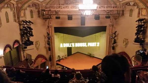 John Golden Theatre, secção: Rear Mezzanine, fila: H, lugar: 107