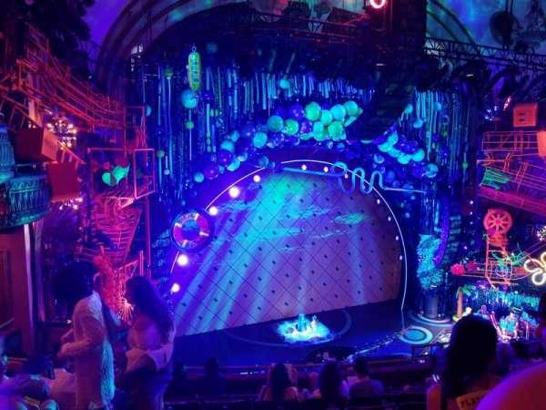 Palace Theatre (Broadway), secção: Mezzanine, fila: G, lugar: 17