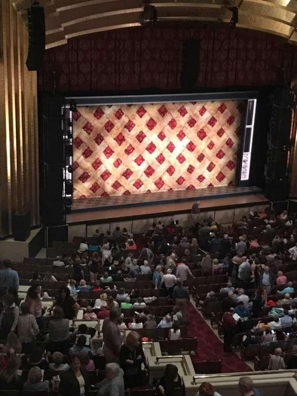 The Bushnell Center for the Performing Arts - Mortensen Hall, secção: Balcony B, fila: A, lugar: 101