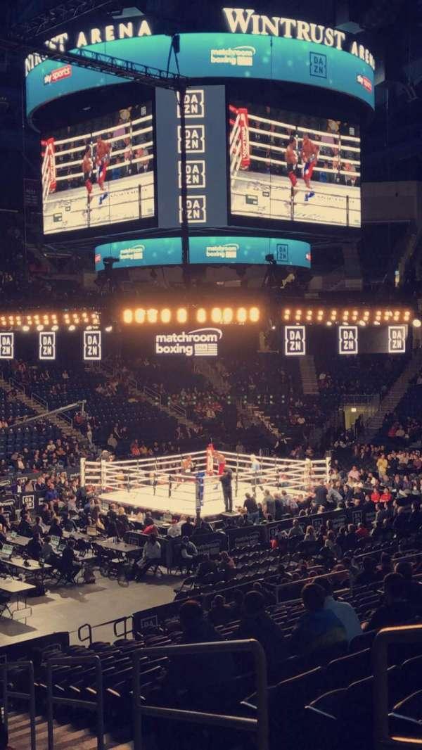 Wintrust Arena, secção: 113, fila: N, lugar: 2