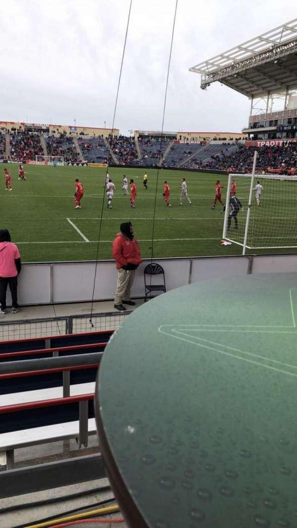 SeatGeek Stadium, secção: 138
