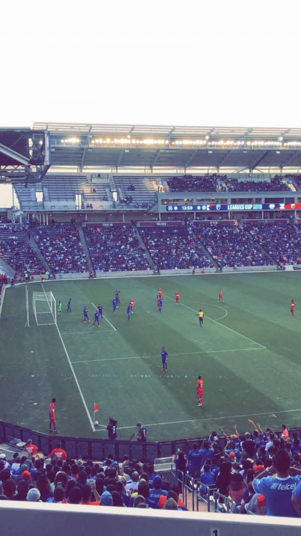 SeatGeek Stadium, secção: 132, fila: 25, lugar: 5